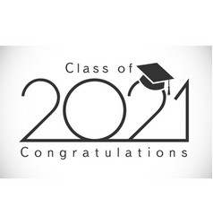 2021 simple minimalism graduating thin black vector image