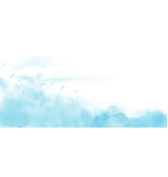 abstract light blue watercolor texture vector image