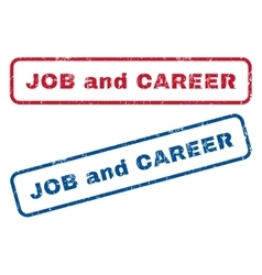 Job and career rubber stamps vector