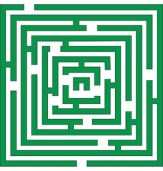Maze 01 color vector image
