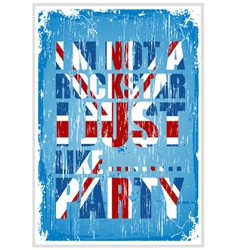 Party Britain vector image