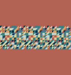 seamless geometric triangle pattern abstract vector image