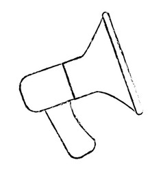 sound megaphone isolated icon vector image