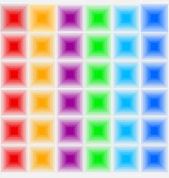 Volumetric three-dimensional color seamless vector