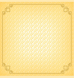 Yellow chinese little fan abstract background vector