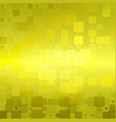Golden yellow khaki glowing rounded tiles vector