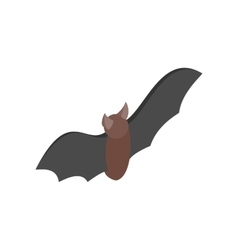 Bat isometric 3d icon vector