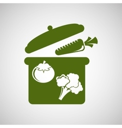 food nature vegetables healthy health vector image