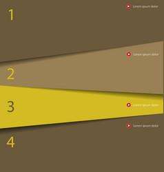 Modern simple design template vector