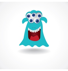 Monster eyes vector
