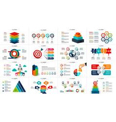 Startup infographics presentation vector