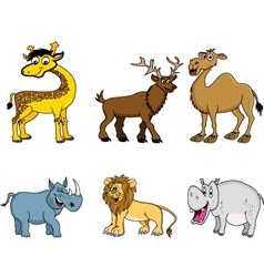 animal collection vector image
