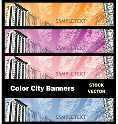 Different color vector image vector image