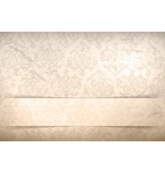Vintage background seamless pattern vector image vector image