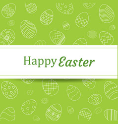 happy easter egg background and wallpaperscan be vector image vector image