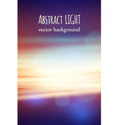 beautiful nature abstract background with bokeh vector image