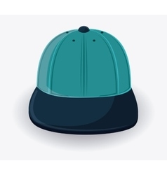 Cap cloth accesory design vector