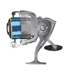 Fishing reel vector
