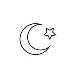 Islam icon vector