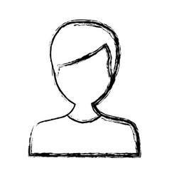 man avatar cartoon vector image