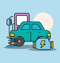 People car service vector