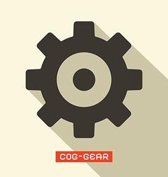 Cog - Gear Symbol vector image