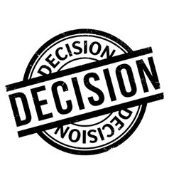 Decision rubber stamp vector