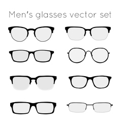 Glasses 3 vector image vector image