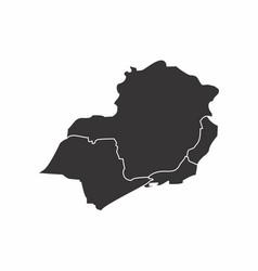 Brazil southeast region vector