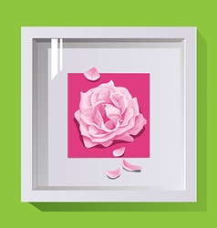 Decorative frame for design on wall paintings vector