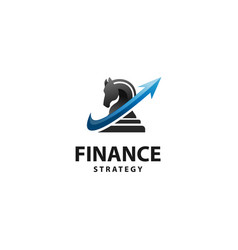 finance strategy vector image