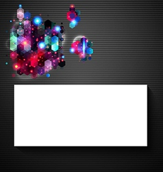 Glossy abstract page layout for Your presentation vector image
