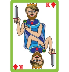 King diamonds vector