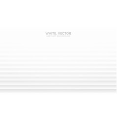 minimalist white abstract background 3d blurred vector image