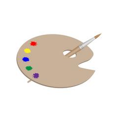 Palette for the artist vector