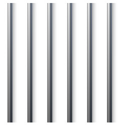 prison cell bars vector image