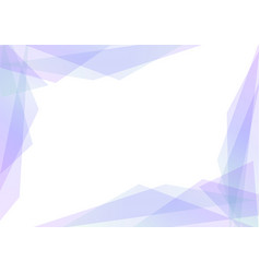 Violet and blue geometric spectrum abstract vector