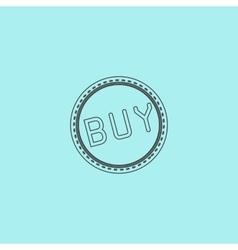 Buy Badge Label or Sticker vector image vector image