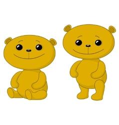 teddy bears friends vector image