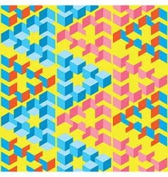 Abstract Optical Seamless Pattern vector image
