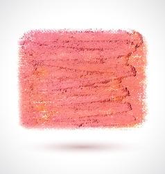 art brush pink vector image