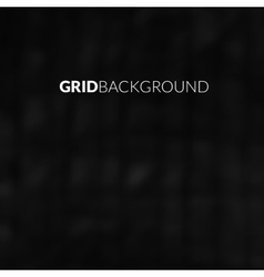 Black background with blur grid vector image