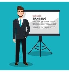 Business training design vector