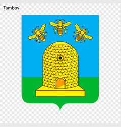 Emblem of tambov vector