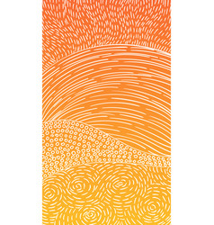 Hand drawn pattern of dashed lines dots small vector