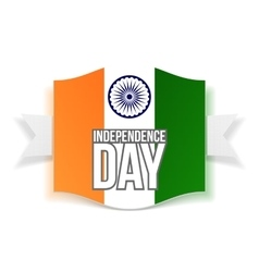 India Independence Day greeting Banner vector image