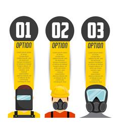 industrial security design vector image