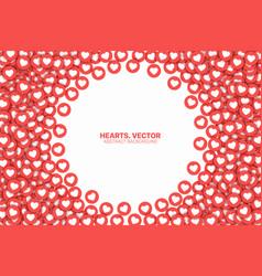 Lot likes conceptual abstract vector
