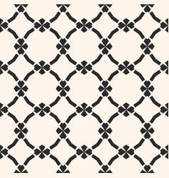ornamental mesh pattern in oriental style vector image