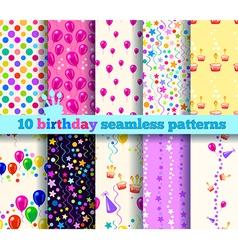 Pattern birthday vector